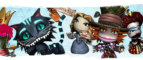 LittleBigPlanet 2: Alice_In_Wonderland-Costume_Pack | by PlayStation.Blog