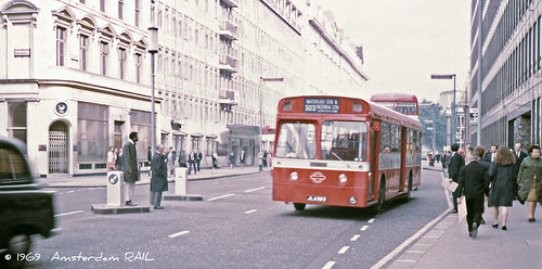 London Transport XMS7 in Victoria Street, 1969 | by Amsterdam RAIL