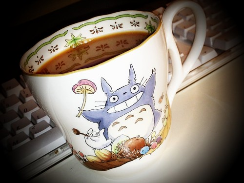 Totoro Tea Time | by VaguelySerious