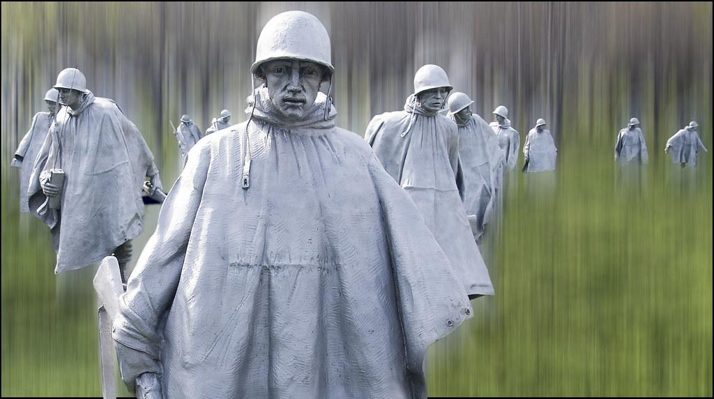 Korean War Veterans Memorial -- Washington (DC) March 2012 ...