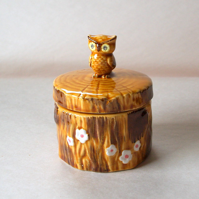 Owldorable Vintage Owl 1970 39 S Owl Honey Pot