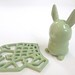 Avocado Green 3D Printed Ceramics at Shapeways