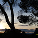 Sunset in Madrid .  Atardecer.