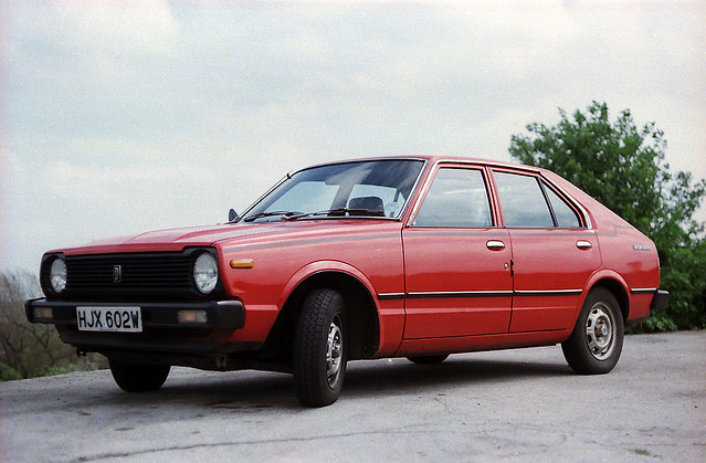 1981 Datsun Cherry | September 8th, 1984 - recently bought ...
