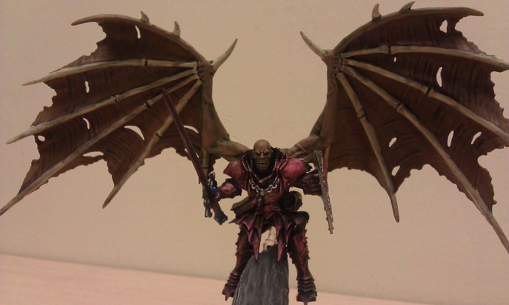 Winged Vampire Lord | My vampire lord, using wings off the ...
