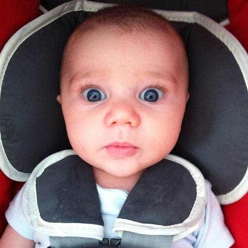 Baby Kai Maring Ryner looking googly-eyed and adorbs. | by alist