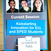 Kickstarting Innovation for ELL and SPED Students