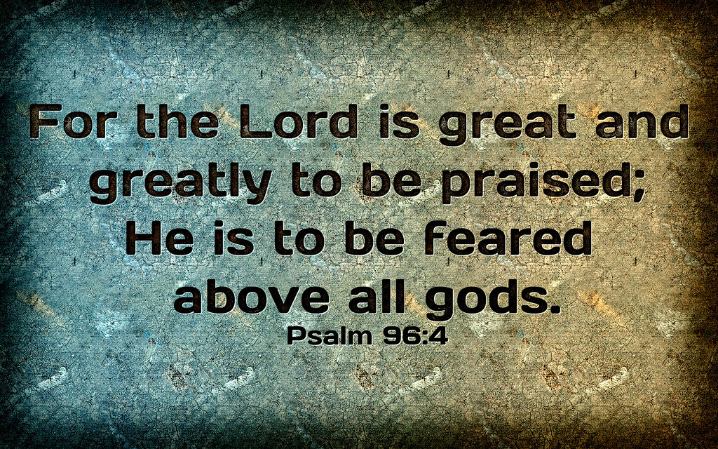 an analysis of psalm of praise psalm 96
