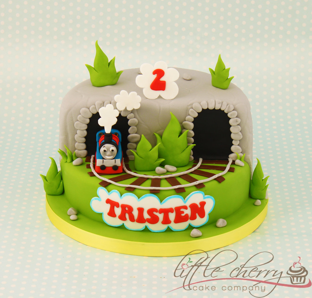 Cake Decorations Thomas The Tank Engine : Thomas the Tank Engine Cake Design by me, the idea to ...