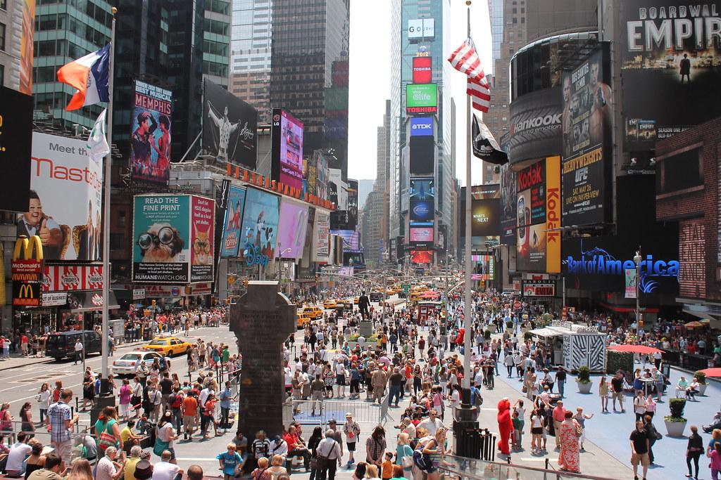 Times Square New York Kids