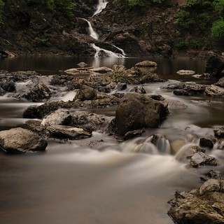 Mt. Ida Falls 2012-Composite shot | by chuckthewriter