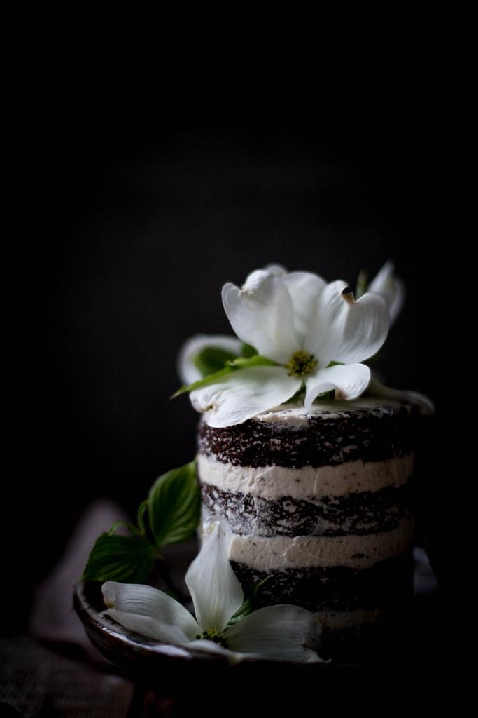 Chocolate Lavender Cake Local Milk
