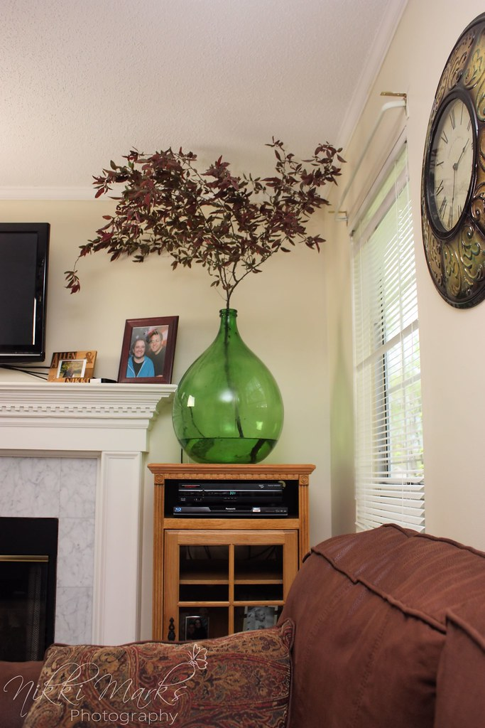 Demijohn bottle home decor i finally figured out what to - Damigiane decorate ...