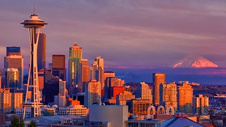 Seattle, Washington - Skyline | by Matt Pasant