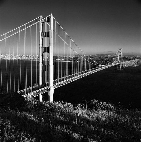 Golden Gate Bridge from Battery Spencer (in Infrared) | by Rodney A. Johnson