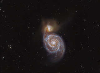 The Whirlpool Galaxy M51 LRGB | by Terry Hancock www.downunderobservatory.com