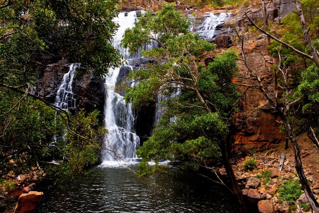 Mackenzie Falls Grampians National Park Victoria Austra