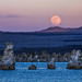 Sunset Full Moon Rise over Mono Lake