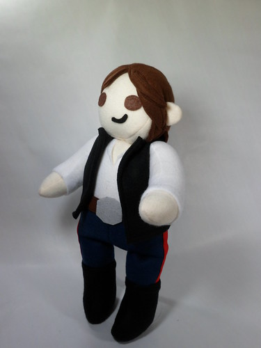 Han Solo | by Handmade Stuffs