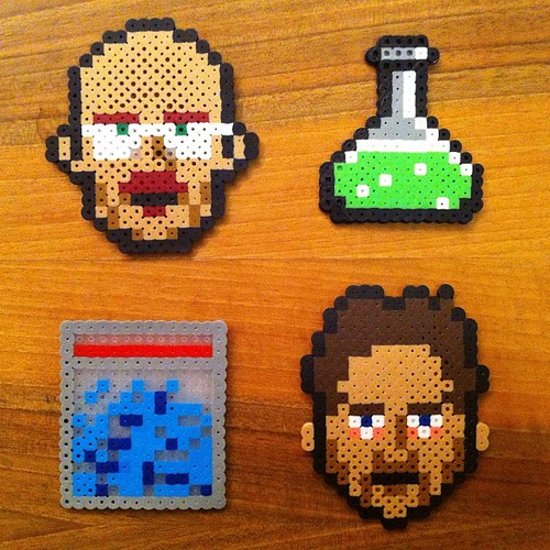 Breaking Bad Perler bead pixel art | by CMYBacon