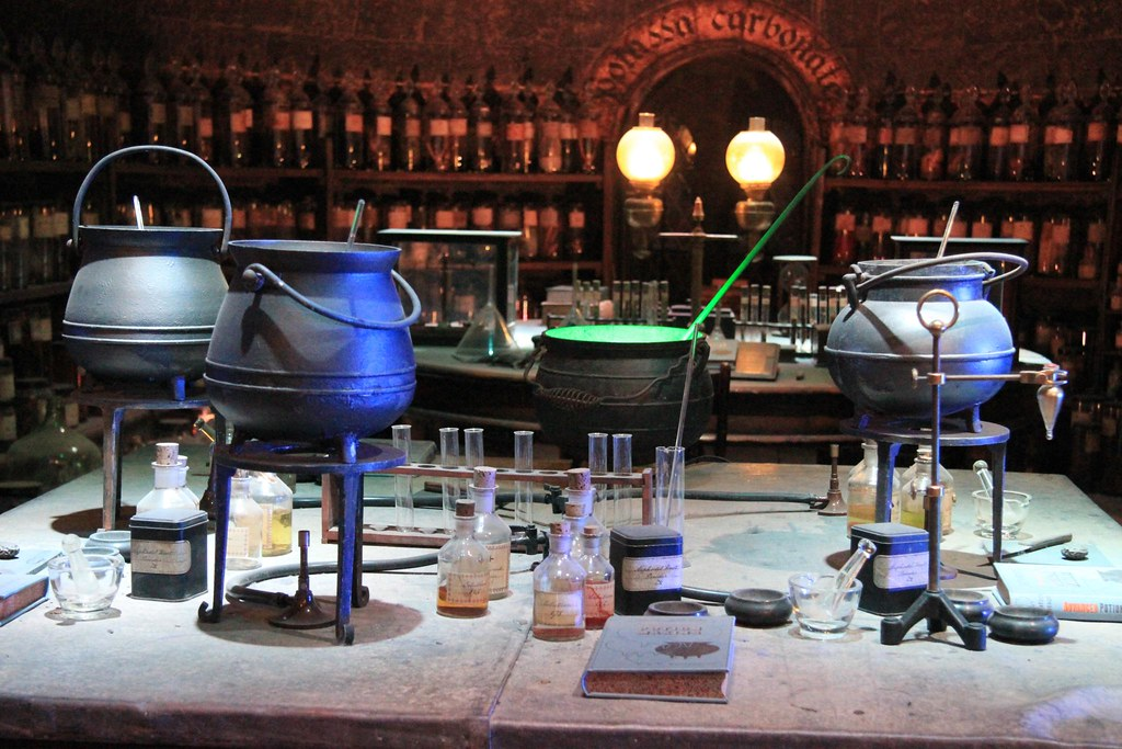 Potion Making Room Medieval Times