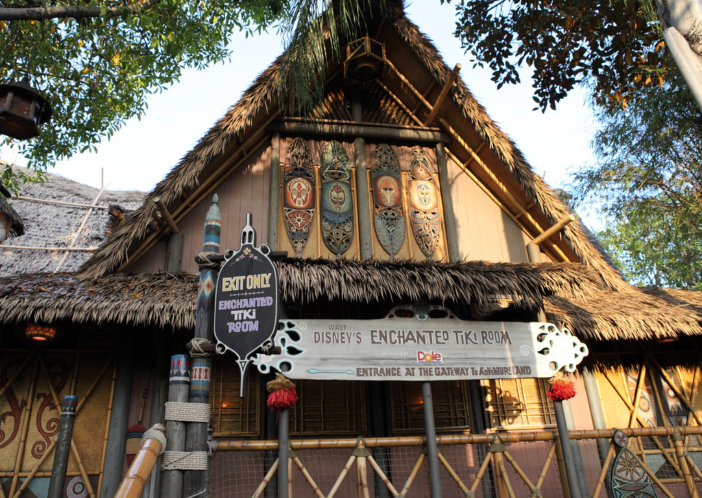 Disneyland Tiki Room Menu