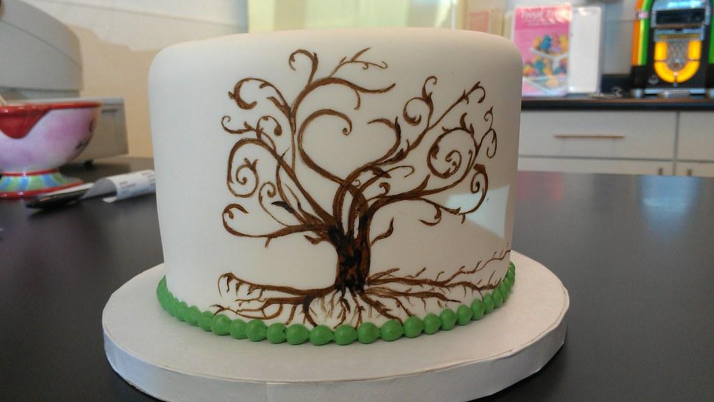 Tree Of Life Wedding Cake Retro Bakery Www Retrobakerylv