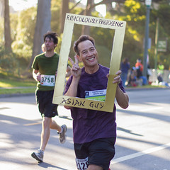 Bay To Breakers 2012: ridiculously photogenic asian guy