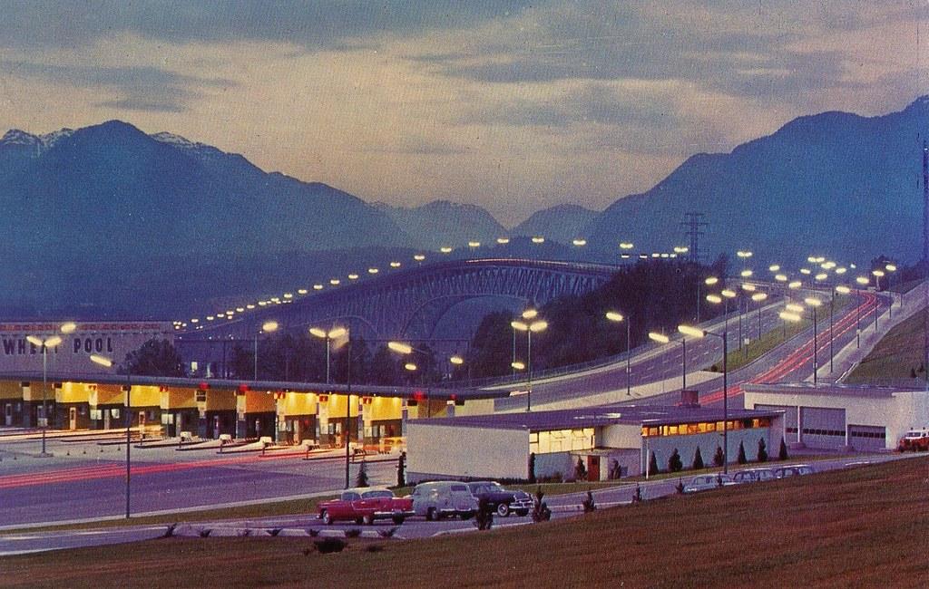 Postcard Second Narrows Bridge 1961 Quot Vancouver B C