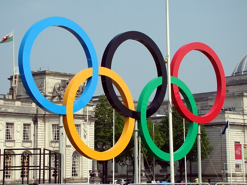 Olympic Rings in Cardiff | by joncandy