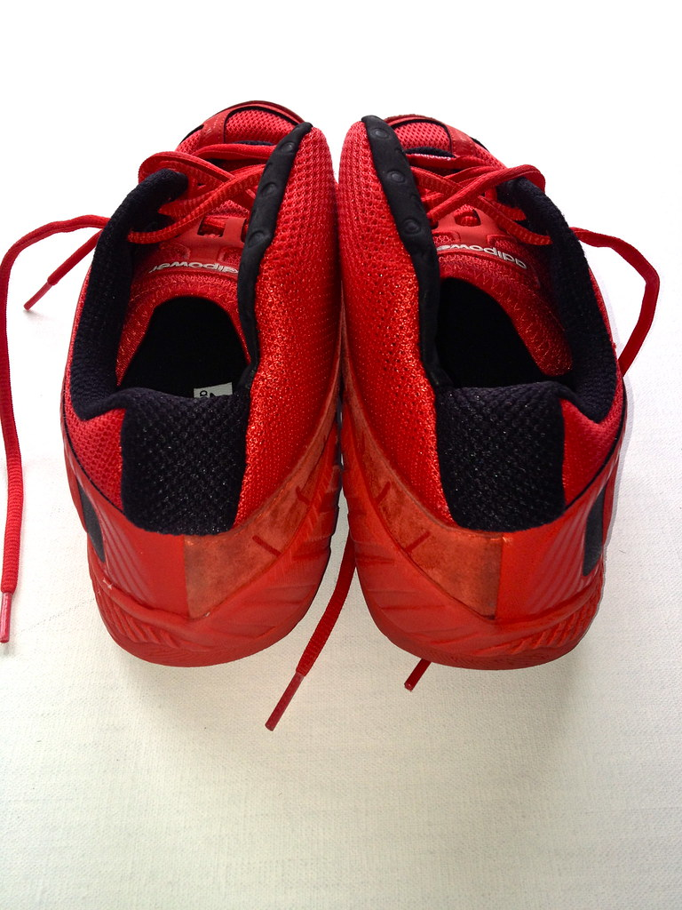Adipower Fencing 2012 8 Red Adidas 2012 Fencing Shoes