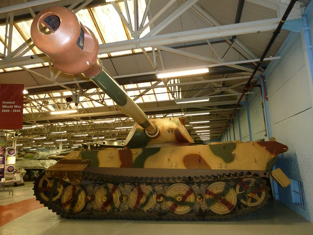 Panzer Vi Model B Sdkz 182 The Tiger Ii Was The Second