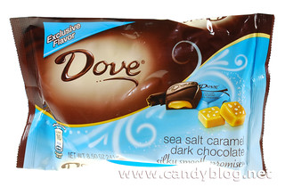 Dove Dark Chocolate with Sea Salt Caramel | by cybele-