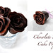 Chocolate rose cake pops