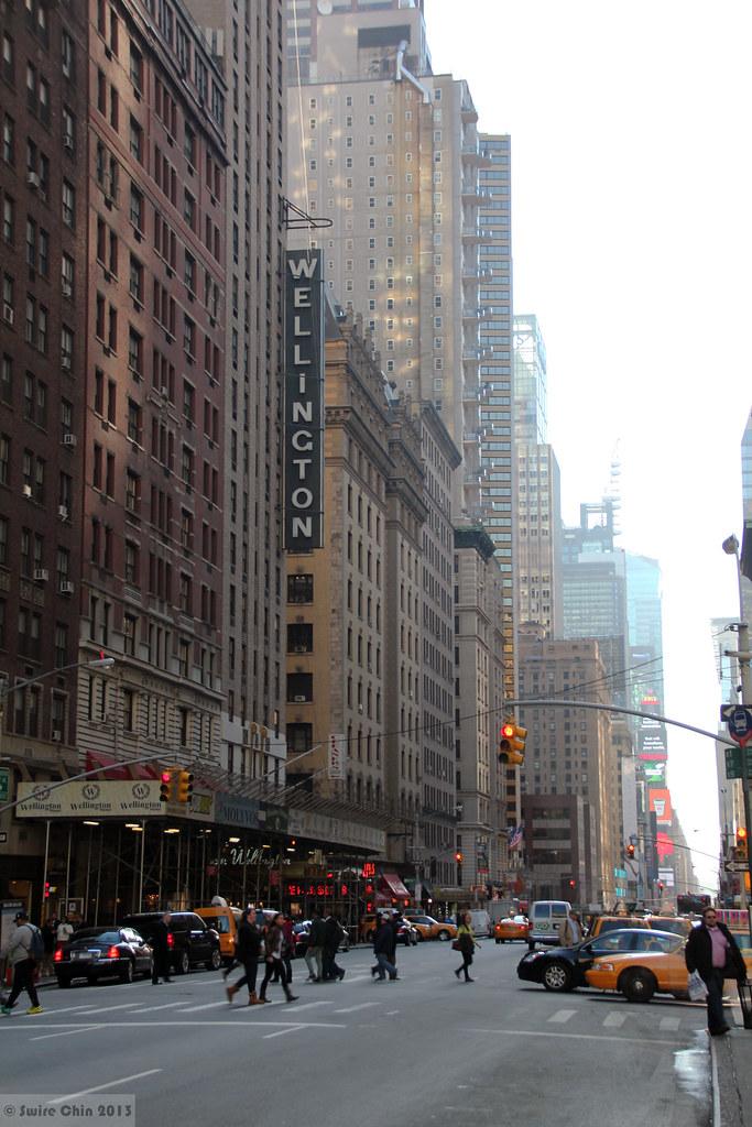 Wellington Hotel New York New York