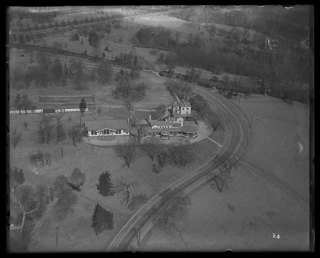 Belmont Mansion Fairmount Park Philadelphia Aerial