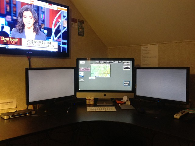 4 Monitor Imac Setup 4 Screens Total Including 2011 2