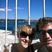 Sam and I in front of the Bosphorus straight