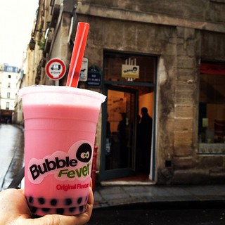 Happiness from a pop-up bubble tea shop | by EdnaZ