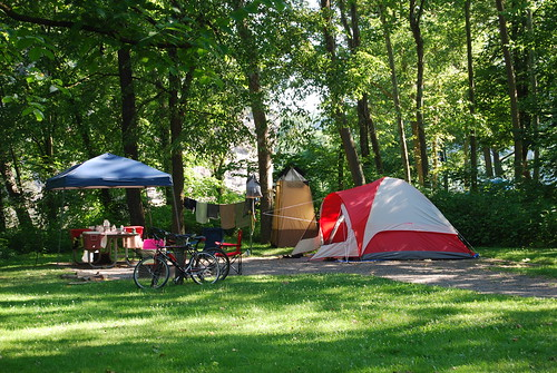Primitive Camping at New River Trail State Park | by vastateparksstaff