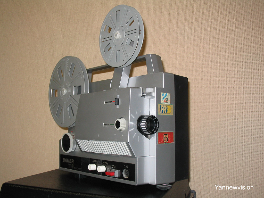 projecteur super 8 film 8 mm bauer t16 sound. Black Bedroom Furniture Sets. Home Design Ideas