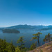 Viewpoint on north Mount Gardner peak trail, Bowen Island