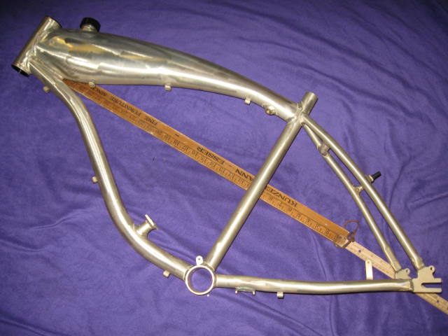 Alloy gas tank frame lynn r Best frame for motorized bicycle