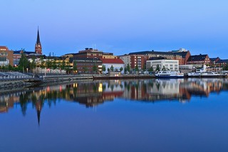 Reflections of Luleå (Lulea) / North Sweden at Twilight | by Maria_Globetrotter