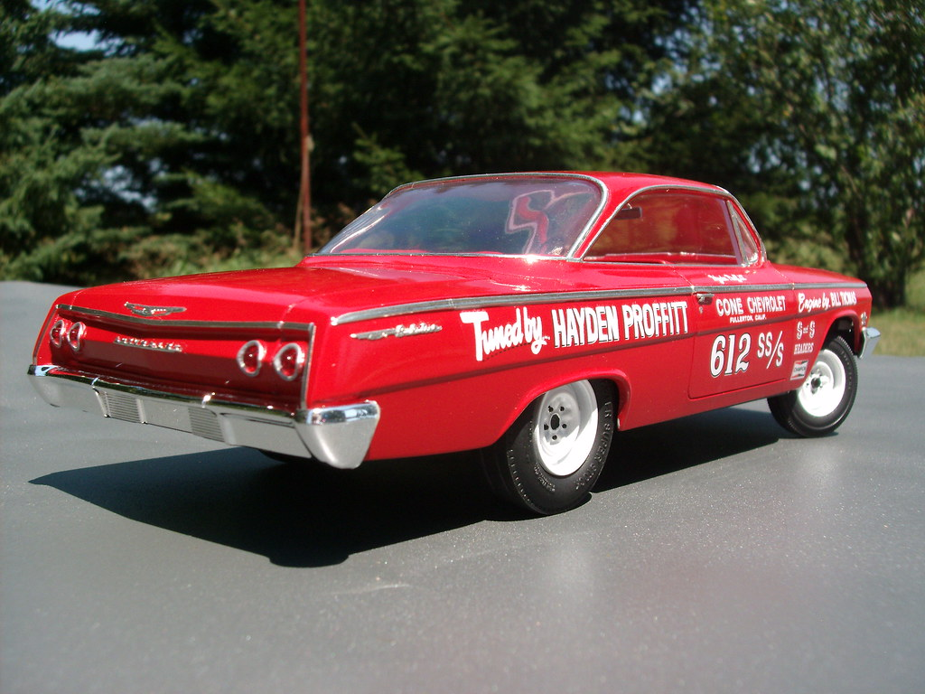 62 Bubble Top Impala >> Hayden Proffitt's '62 Bel Air Super Stock | I recently finis… | Flickr