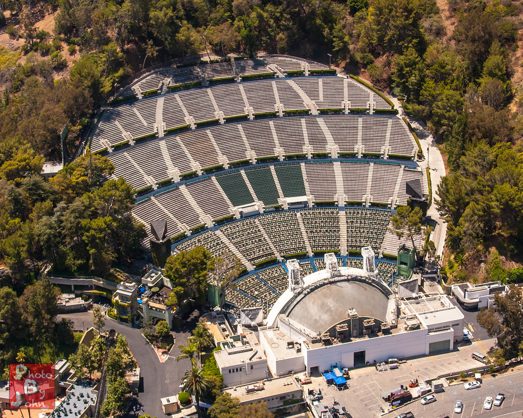 Hollywood bowl the famed hollywood bowl from the air for Terrace 3 hollywood bowl