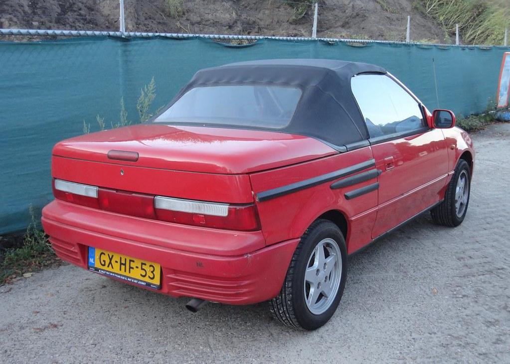 suzuki swift mk3 cabrio 3 9 1993 gx hf 53 scrapped. Black Bedroom Furniture Sets. Home Design Ideas