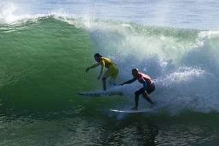 Ratboy Collins and Kelly Slater | by Anthony L. Solis