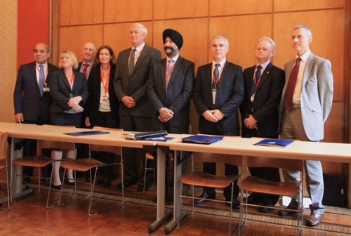U.S. delegation at the World Organization for Animal Health in Paris