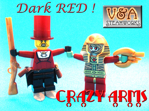 dark red crazy arms | by V&A Steamworks - Guy HImber